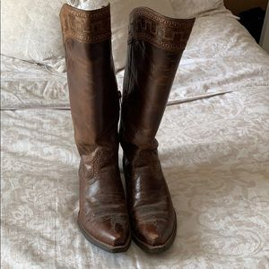 Tall Ariat Cowgirl Boots